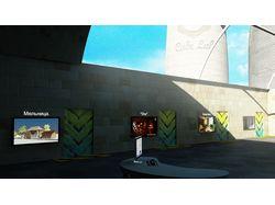 Рендер сцен для рекламы компании CubeLab.