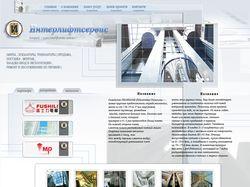 "Сайт компании ""ООО Интерлифтсервис"""