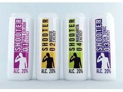 Дизайн упаковки для энергетического напитка