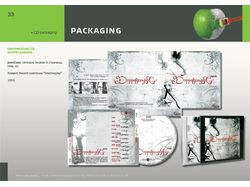 CD packaging: Doppelganger