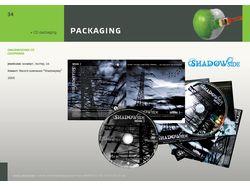 CD packaging: audio сборника Shadowside