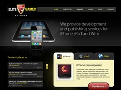 Elitegames — разработка игра для iphone, ipad, mac