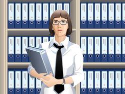 woman женщина леди в офисе