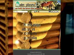 Стройка деревяных домиков