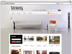 Сайт «Виктория мебель»