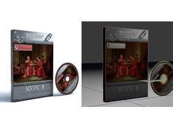 Обложка и коробка для DVD дисков