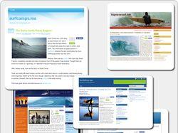 Наполнение 30-и сайтов. CMS Wordpress