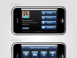 Дизайн для приложения на iPhone