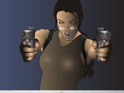 Angelina Jolie (Lara Croft)