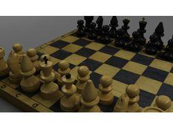 Шахматы в 3d