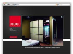 Дизайн для сайта мебельной компании
