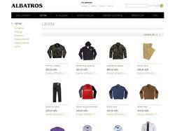 Albatros shop (в разработке)