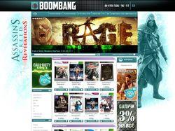 Интернет-магазин игр для PC и приставок Boombang