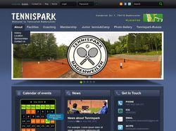 Дизайн сайта tennispark