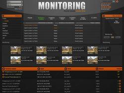 Макет сайта «Мониторинг серверов Counter-Strike»