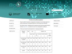 Сайт компании Bio Soft