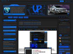 Дизайн сайта VIP-Progs.ru