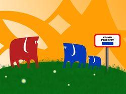 Слоны - adobe photoshop CS3