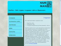NurMax - Веб студия, создание сайта в Шымкенте
