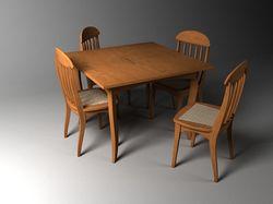 Моделирование и текстурирование предметов мебели