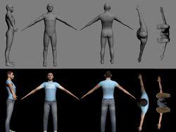 3D персонаж