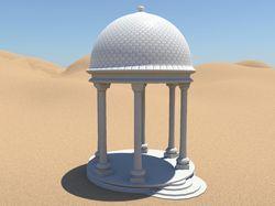 Ротонда 3D модель