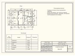 План в AutoCAD