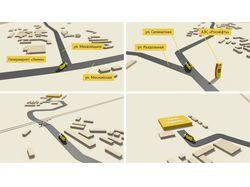 3D схема проезда