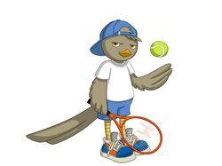 Кукушка теннисист