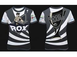 Работа на конкурс фанатской футболки Rox и GG