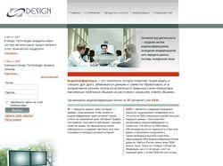Сайт Design Technologies