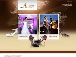 Создание сайта для Fashion Queen GmbH