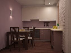 Кухня, квартира-студия