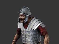 Гротескный римлянин