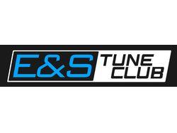 Логотип E&S TuneClub для es-tuneclub.ru