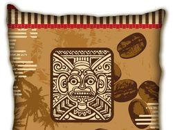 Дизайн подушки с запахом кофе