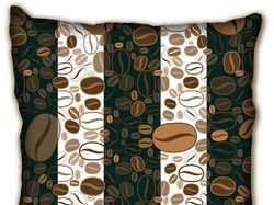 Дизайн подушки с ароматом кофе
