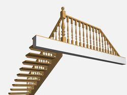 Эскизный проект лестницы