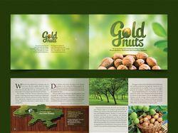"Буклет для ""GoldNuts"""