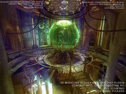 3д башня сферы арт для игры