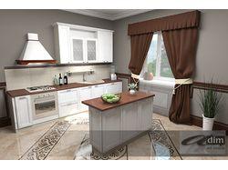 """Кухня с фасадами """"Adria"""""""
