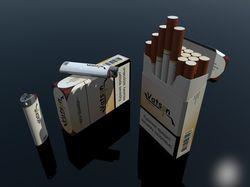 """Фирменый стиль сигареты """"Ватсон"""""""
