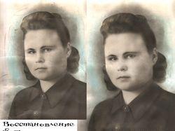 Восстановление фото женщины