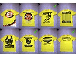 Печать на футболках. НБЛ