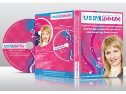 Макет диска+дизайн CD-бокса