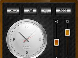 Radio Alarm Screen iPhone HD