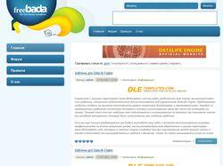 Макет для Bada сайта
