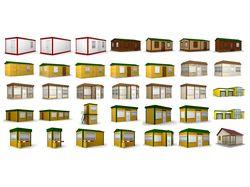 3D модели для сайта module-house.ru