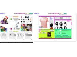 Интернет-магазин футболок + дизайнер