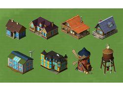 Игровые здания 4